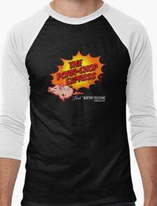 Pork Chop Express - Distressed Glow Variant Men's Baseball ¾ T-Shirt