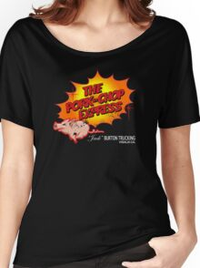 Pork Chop Express - Distressed Glow Variant Women's Relaxed Fit T-Shirt