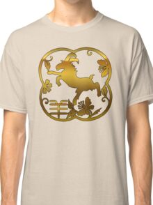 Chinese New Year of The Sheep Goat Ram Classic T-Shirt