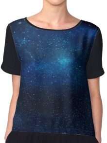 Galaxy Texture Chiffon Top