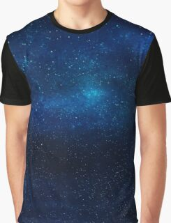 Galaxy Texture Graphic T-Shirt