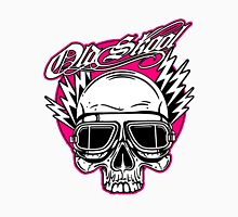 Old Skool Skull Design in pink by Uncle Henrys Unisex T-Shirt