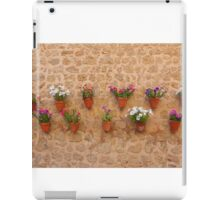 The Flower Pots Of Valldemossa iPad Case/Skin
