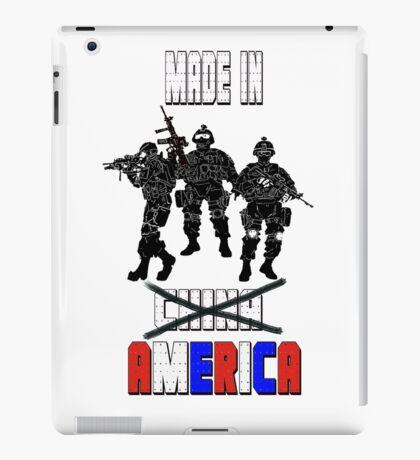 MADE IN AMERICA iPad Case/Skin