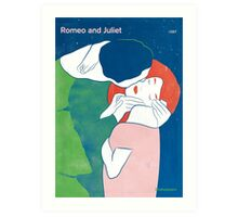 Romeo and Juliet - William Shakespeare Art Print