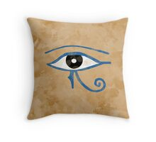 Udjat Throw Pillow