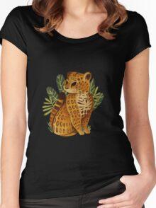 Jaguar Women's Fitted Scoop T-Shirt