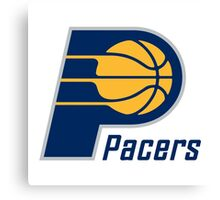 Pacers 01 Canvas Print