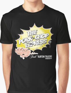 Pork Chop Express - Distressed Yellow Variant Graphic T-Shirt