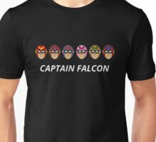 Captain Falcon Colors Unisex T-Shirt