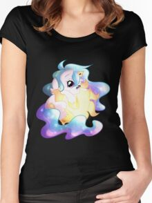 Chibi Celestia Women's Fitted Scoop T-Shirt