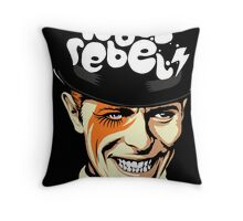 Rebel Rebel Throw Pillow