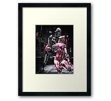 Cyber Love Framed Print