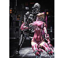Cyber Love Photographic Print