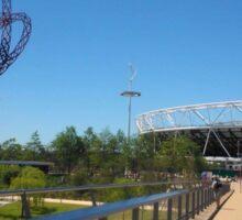 London Queen Elizabeth Olympic Park - Stratford Sticker