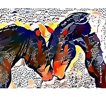 I Spotted Horses Photographic Print