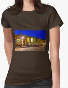 Ramatuelle by Night, South of Saint Tropez, France Womens Fitted T-Shirt