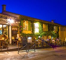 Ramatuelle by Night, South of Saint Tropez, France by Bruno Beach
