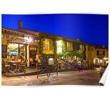 Ramatuelle by Night, South of Saint Tropez, France Poster