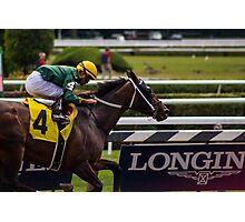 Saratoga - 4 horse Photographic Print