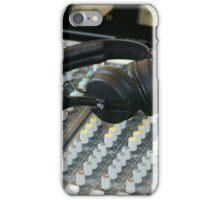 Headphones iPhone Case/Skin