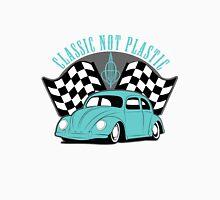 VW Beetle Classic Not Plastic Design in turquoise Unisex T-Shirt