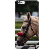 Saratoga - White horse iPhone Case/Skin