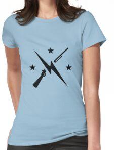 Minutemen Logo (black) - Fallout 4 Womens Fitted T-Shirt