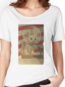Mr. Pebbles - The first cat in space Women's Relaxed Fit T-Shirt