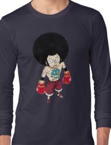 Luffy Boxer Grunge T-Shirt