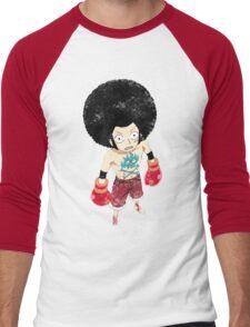Luffy Boxer Grunge Men's Baseball ¾ T-Shirt