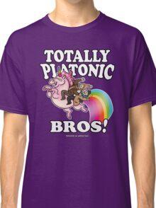 TOTALLY Platonic Bros!! *Definitely No Subtext Here Classic T-Shirt