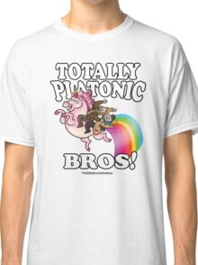 TOTALLY Platonic Bros!! *Definitely No Subtext Here Classic T-Shirt