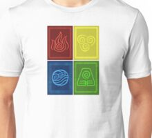 Avatar: The Last Airbender - The Four Elements Unisex T-Shirt