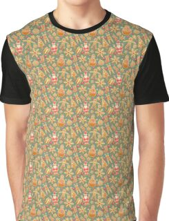 Christmas Gingerbread Cookies Graphic T-Shirt