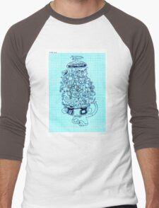 cognitive dissonance Men's Baseball ¾ T-Shirt