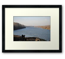 The Confederate River Batteries, Fort Donelson, Dover, TN Framed Print