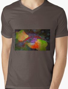Guess who is coming to a late dinner? Mens V-Neck T-Shirt
