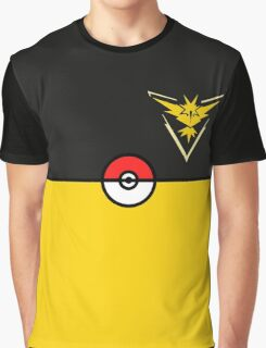 Yellow Team Pokemon Go Graphic T-Shirt