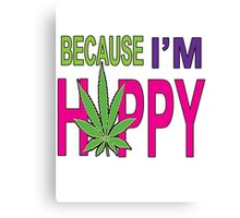 Happy Bud Canvas Print