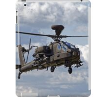 British Army Air Corps WAH-64D Longbow Apache AH1 Helicopter iPad Case/Skin