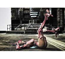 Cyborg Pinup Photographic Print
