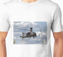 British Army Air Corps WAH-64D Longbow Apache AH1 Helicopter Unisex T-Shirt