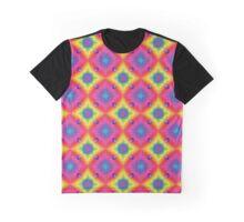 Rainbow Disco Ball Diamonds Graphic T-Shirt