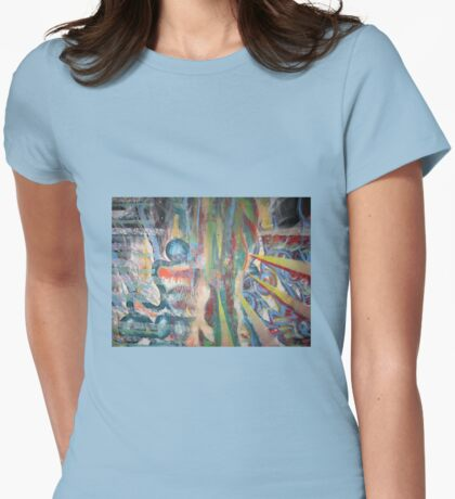 Breaking Through  Womens Fitted T-Shirt