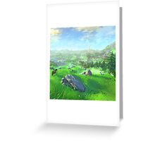 Breath Of The Wild - Field Greeting Card
