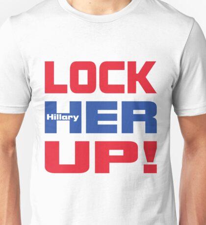 HILLARY LOCK HER UP Unisex T-Shirt