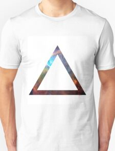 Hipster Space Triangle Unisex T-Shirt