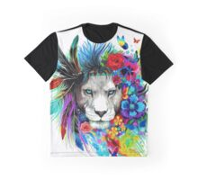 Painting lion Graphic T-Shirt