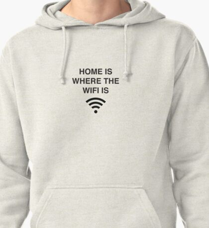 Wifi Pullover Hoodie